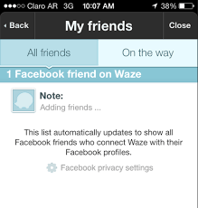 iphone how can i add my in waze ask different