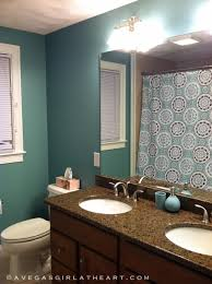 bold bathroom in full color ideas home decorating ideas