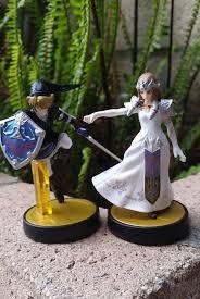 nerdy wedding cake toppers amiibo custom link princess white wedding dress