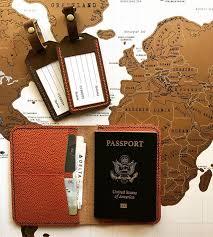 Kansas travel passport images Palm pine leather goods lawrence kansas