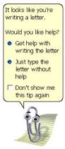 when i am 100 years old writing paper clippy know your meme it looks like you re writing a letter before offering to help walk you through the process