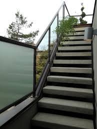 Glass Stair Handrail Aluminum Railings American Railworks