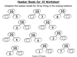 number bonds the story of 10 powerpoint presentation and