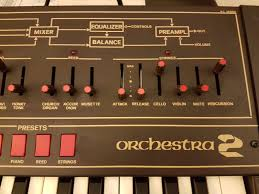 matrixsynth siel orchestra 2 synthesizer never used sn 235307