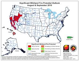 Wildfire Song About by Wildfire Potential June Through September U2013 Wildfire Today