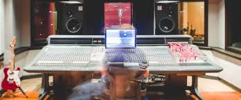 Home Studio Mixing Desk by Chris Bethea