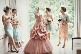 wedding dress indonesia an 18th century antoniette inspired wedding
