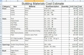 estimate sample construction estimating template archives constructupdate com