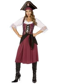 cheap costumes for adults burgundy pirate wench womens costume pirate costumes cheap costumes