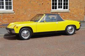 porsche 914 yellow 1971 porsche 914 coys of kensington