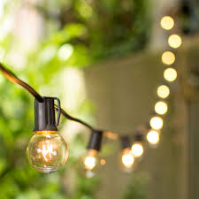 Glass Float String Lights by Patio String Lighting Canada Lighting For Parties Holidays