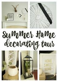 home sweet home decoration summer home tour 2016 two purple couches