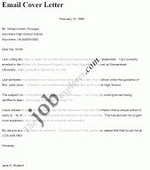 cover letter email format u2013 template design