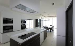 photo de cuisine avec ilot cuisine design avec îlot central les bains et cuisines d alexandre