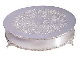 silver wedding cake stand cake stands wedding cakes