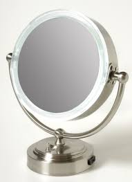 Lighted Makeup Vanity Mirror Bedroom Using Best Lighted Makeup Mirror For Pretty Home
