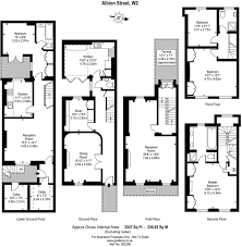 3 bedroom terraced house for sale in albion street london w2