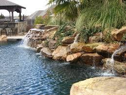 rock waterfalls for pools simplified rock waterfalls moss king pools inc www