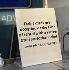 car rentals that accept prepaid debit cards hawaii car rental terms conditions terms of use
