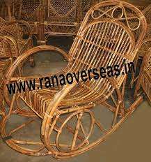 Bamboo Rocking Chair Rana Overseas Manufacturer Supplier And Exporter Bamboo Rocking