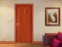 modern new timber door design internal solid panel wooden doors