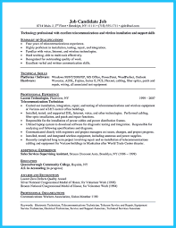 Resume Sample Electronics Technician are you trying to make the best cable technician resume ever if