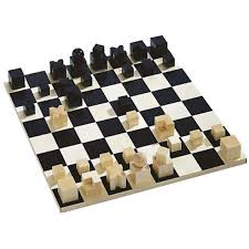 Chess Piece Designs by Bauhaus Chess Set Naef Spiele Shop