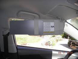lexus ct200h window visor amazon com 1 pair gray visormates sun visor extenders to fit 2010