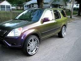 1999 honda crv rims honda crv chameleon paint and 22 inch wheels plus a 13 000