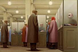 government bureau by george tooker odembo