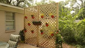 wood lattice wall how to build a wood lattice privacy wall checking in with chelsea