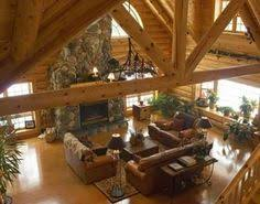 log home interiors affordable luxury log home gallery featured