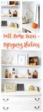 fall home decor entryway shelves 2 bees in a pod