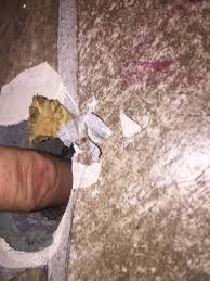 concrete how can i repair this small hole in my basement floor