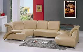 Modern White Leather Sectional Sofa by Modern White Leather Sectional Sofa 104 Black Design Co