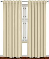 Amazon White Curtains Sensational Design Thermal Insulated Curtains Amazon Com Thermal