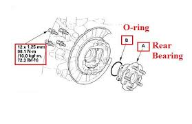 2006 honda civic service schedule rear wheel bearing service manual