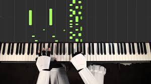 cantina band star wars piano cover hard sheets youtube