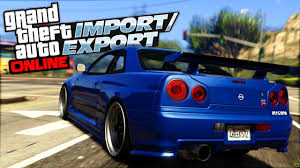 Nissan Skyline Gtr Msrp Gta 5 Nissan Skyline R34 Gtr Leaked Import And Export Dlc Youtube