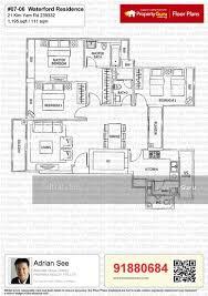 waterford residence floor plan condominium for sale waterford residence 23 kim yam road 239333