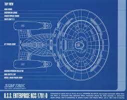 Uss Enterprise Floor Plan by Star Trek Uss Enterprise A D Deep Space 9 Blueprints