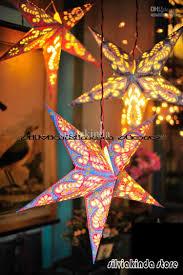 lighting cheap star paper lantern lights with ceiling lighting