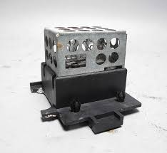 bmw e28 e24 late model interior heater blower motor regulator