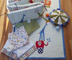 Circus Crib Bedding Pottery Barn Circus Animals Crib Bedding Quilt Bumper Skirt