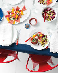 summer menus martha stewart