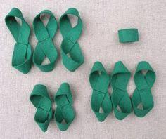 gift bow diy felt gift bow diy tutorial heartmade gift craft