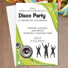 personalised u0026 tennager birthday party invitations