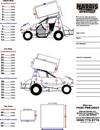 race car wrap measurements
