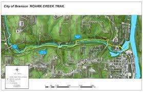 Bear Creek Trail Map Hiking Branson U0027s Trails Branson Mo