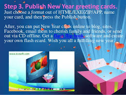 new year photo cards 3 steps to make pageflip digital new year greeting cards by kvisoft f